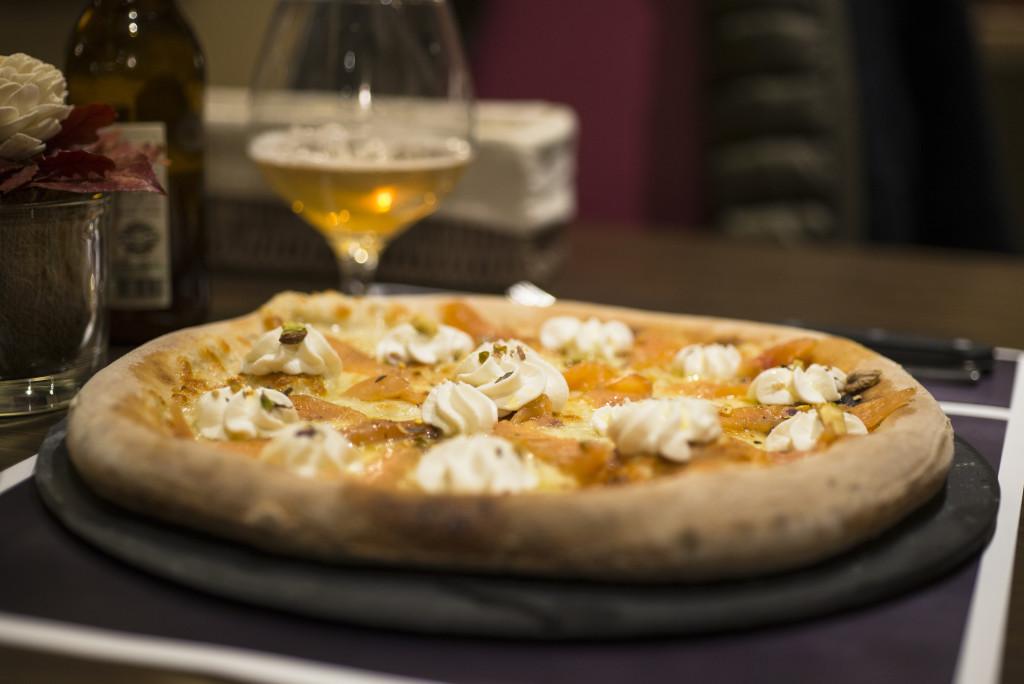ERIDANO - PIZZA napoletana gourmet salmone