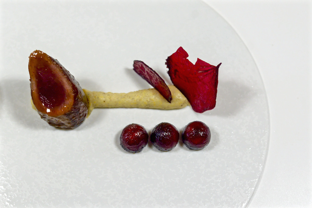 SELVATICO - Capriolo, polenta, mela e barbabietola rossa